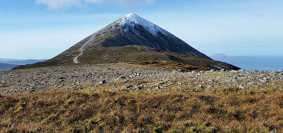 Wild Atlantic Way Croagh Patrick Mayo Ireland