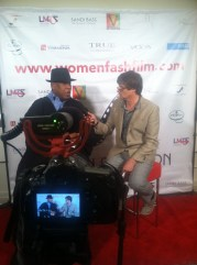 Andre Leon Talley at the 2014 Women and Fashion Film Fest
