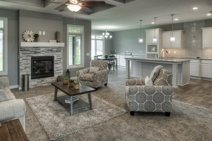 empire homes the reeve group light gray paint