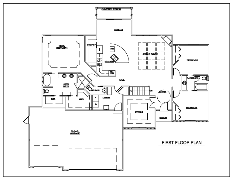 EMPIRE HOMES WINBORN FLOOR PLAN