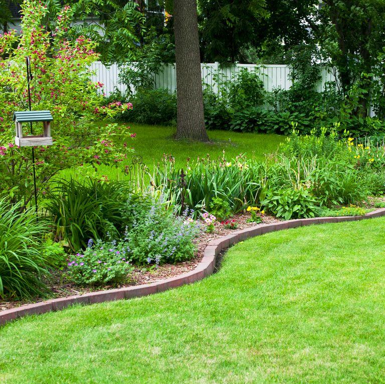 easy diy flower garden border wall