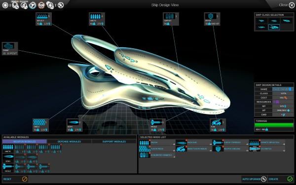 Endless Space Screenshot Wallpaper Ship Creation600px