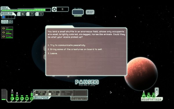 FTL Faster Than Light Screenshot Wallpaper Space Ponies