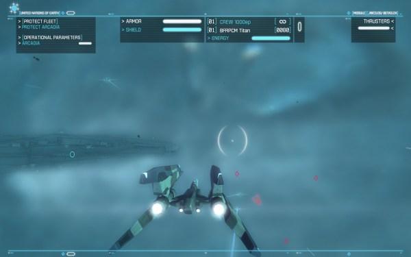 Strike Suit Zero Screenshot Wallpaper Nebula Interceptor