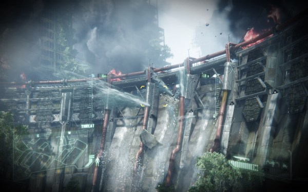 Crysis 3 Screenshot Walpaper Dam Buster