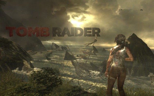 Tomb Raider 2013 Screenshot Wallpaper Title Screen