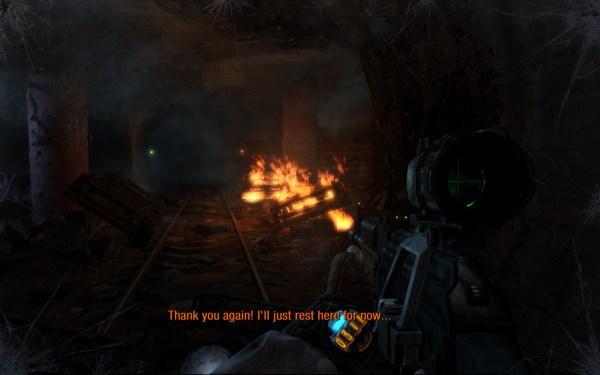 Metro Last Light Screenshot Wallpaper Combat