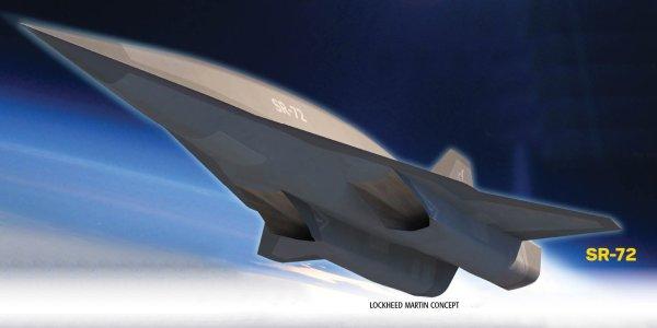 Lockheed Martin SR-72 Concept
