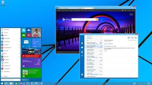 Windows 8.2 Start Bar
