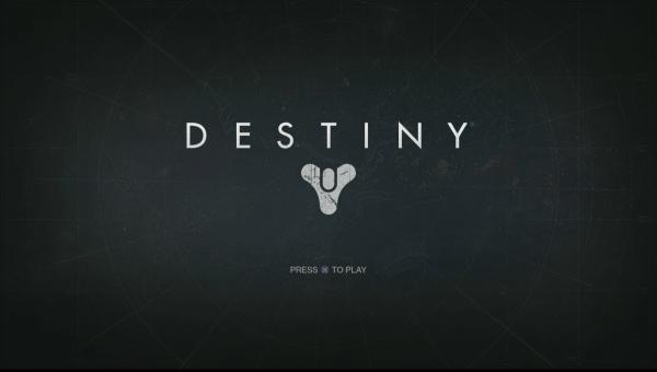 Destiny Review Screenshot Wallpaper Title Screen