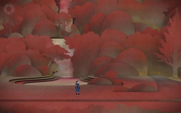 Tengami Review Screenshot Wallpaper Autumns Fall