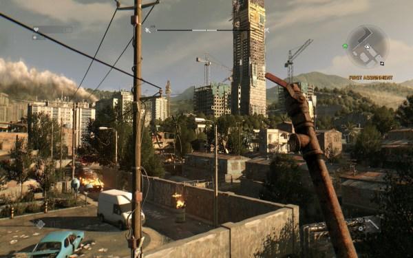 Dying Light Review Screenshot Wallpaper Swingin Mah Pipe