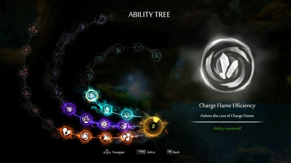 Ori and the Blind Forest Review Screenshot Wallpaper Ability Tree