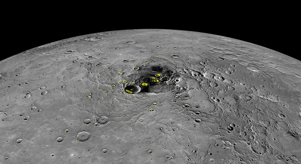 PIA19411-Mercury-WaterIce-Radar-MDIS-Messenger-20150416