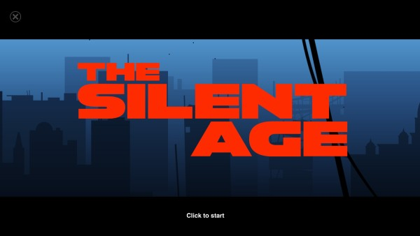 The Silent Age Review Screenshot Wallpaper Title Screen
