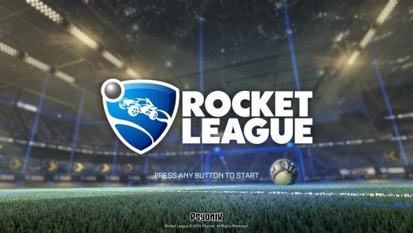 Rocket League Review Screenshot Wallpaper Title Screen