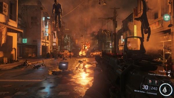 Call of Duty Black Ops 3 Review Screenshot Wallpaper The Immortal Horror