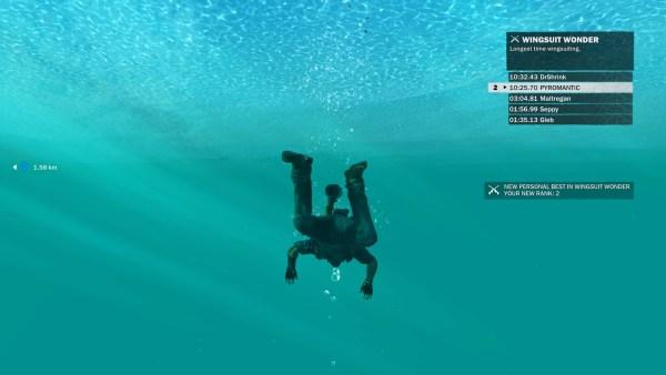 Just Cause 3 Review Screenshot Wallpaper Wingsuit Challenge Fail
