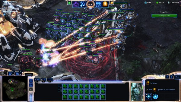 StarCraft 2 Legacy of the Void Review Screenshot Wallpaper Protoss Deathball