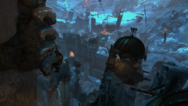 Rise of the Tomb Raider Review Screenshot Wallpaper Frantic Climb to the Top