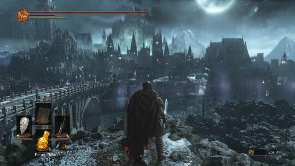 Dark Souls 3 Review Screenshot Wallpaper Irithyll of the Boreal Valley