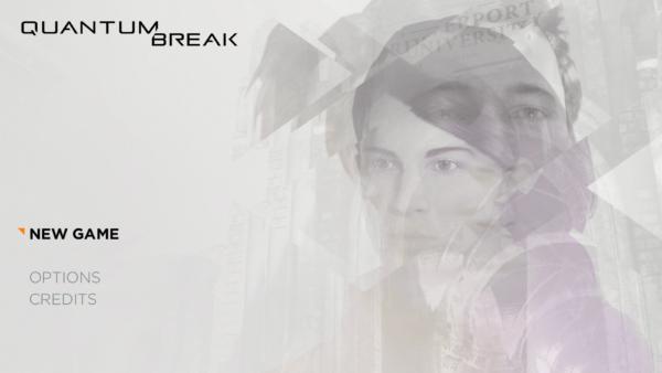 Quantum Break Review Screenshot Wallpaper Title Screen