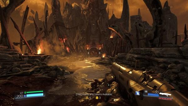 Doom Review Screenshot Wallpaper Welcome To Hell