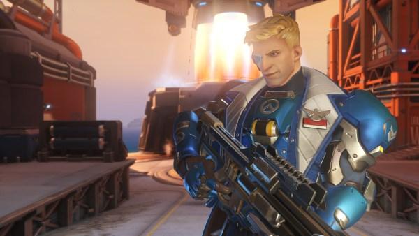 Overwatch Review Screenshot Wallpaper Soldier 76
