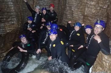 Waitomo Glowworm Caves - Can you spot me?