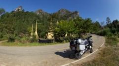 Bike by Nam Ngim Buddhist monument