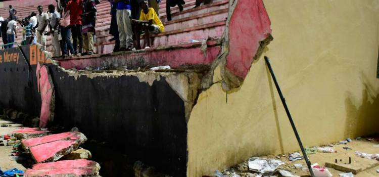 8 dead as wall collapses at Senegal football final
