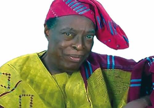 Iconic Poet, playwright and Actor Adebayo Faleti is dead