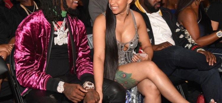 Bodak Engaged!​Offset of Migos proposes to Cardi B in front of sold out crowd