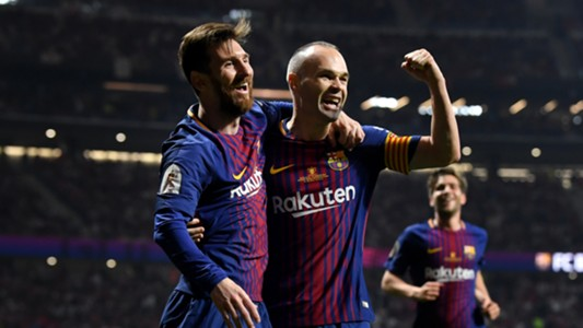 Messi hat trick thrill Barcelona to Laliga title