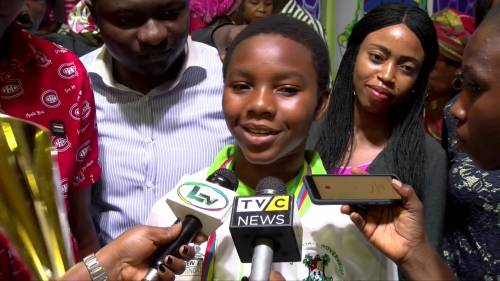 14-Year-Old Gloria Ajala Emerges One-Day Lagos Governor