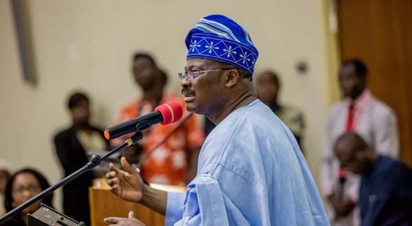 Ajimobi vows to hand over to Adelabu in 2019