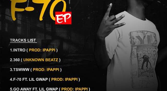 """B Ray Drew out with debut 5 tracks EP """"F-70"""""""