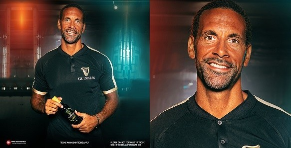 Rio Ferdinand visits Nigeria ahead of Guinness' football experience