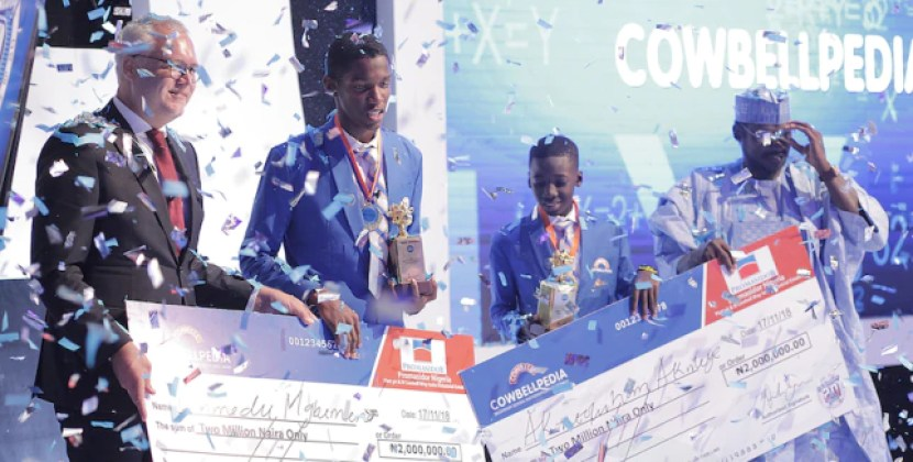 Winners emerge from 2018 Cowbellpedia Champions of Mathematics
