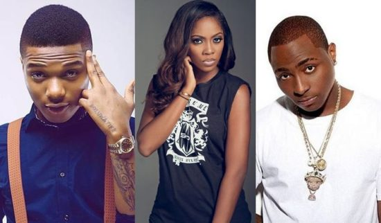 Wizkid, Davido, Burna Boy, Tiwa Savage lead 2018 Soundcity Awards nominations