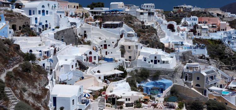 Santorini: Famous Greek island-volcano that gives tourists a mythical experience