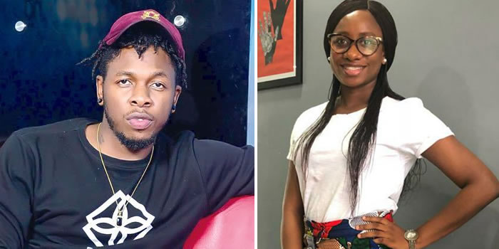 Singer Runtown reacts to Adewura's Death