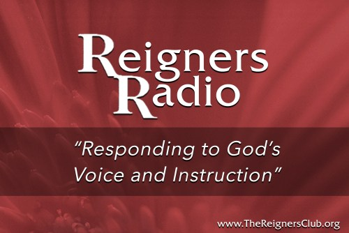 """Responding to God's Voice and Instruction"""