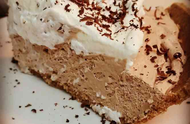 Chocolate Bar Pie