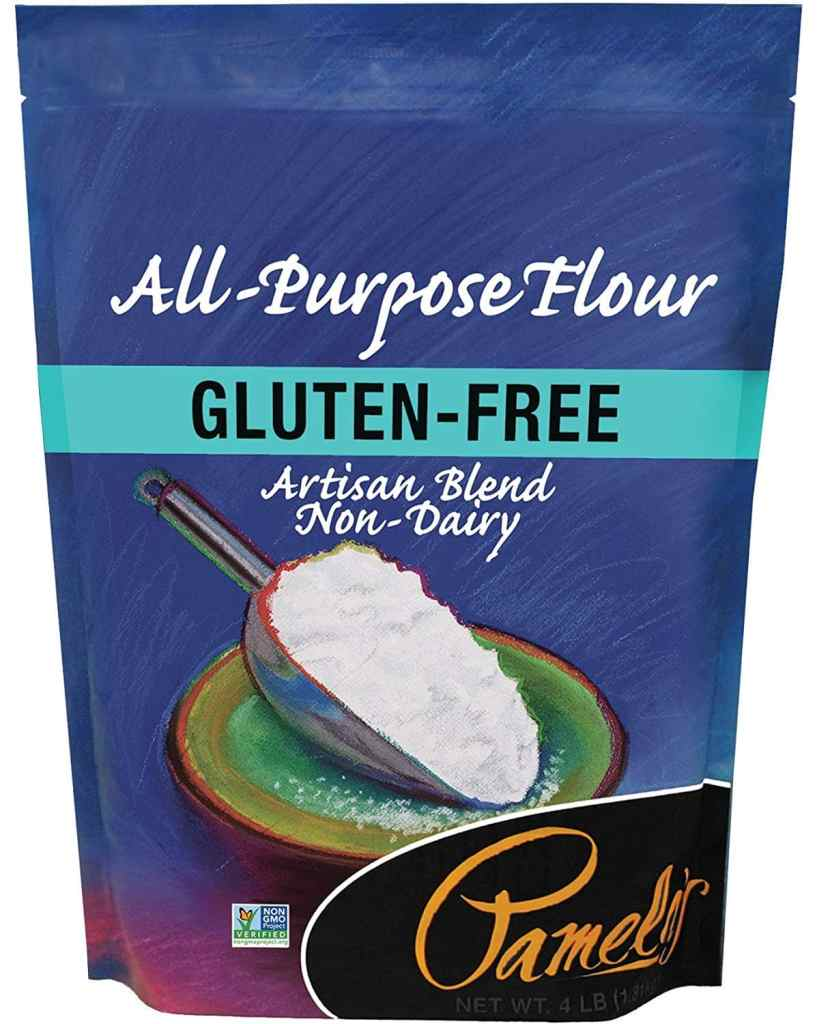 Pamela's Artisan Blend is a great all-purpose gluten free flour. Here's a list of recipes that work great with this flour! #glutenfree