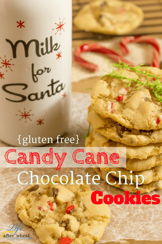Browned Butter and crushed candy canes are the North Pole's secrets to the best (gluten free!) holiday cookie ever!