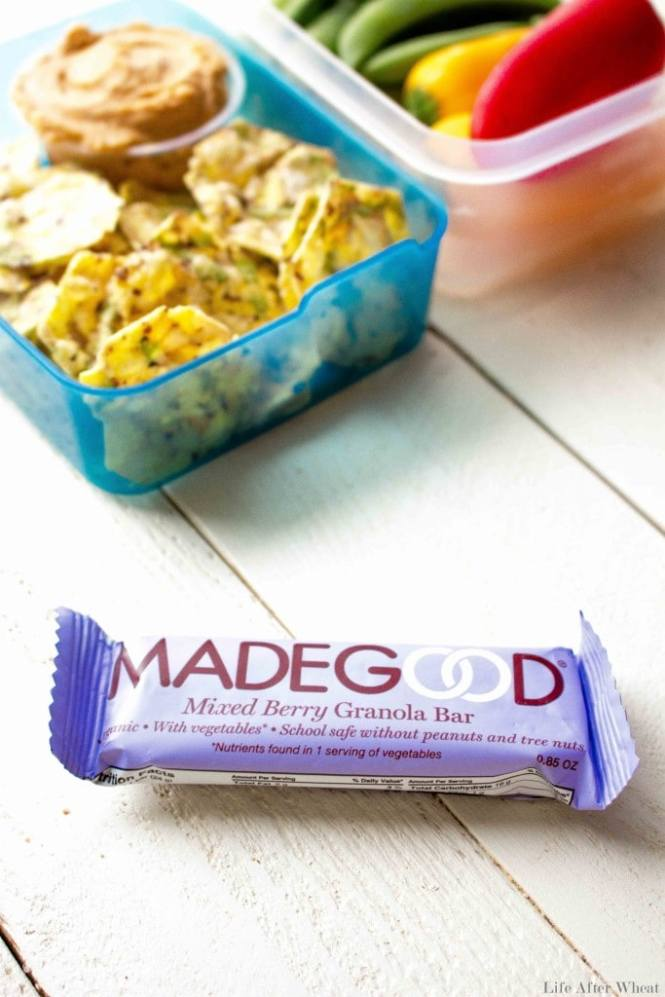 Made Good Foods granola Bars and Minis are a healthy snack kids and adults will love! These snacks are made in a dedicated facility and are top 8 free and school-safe! Your kiddos will never know there's a serving of veggies hidden inside.