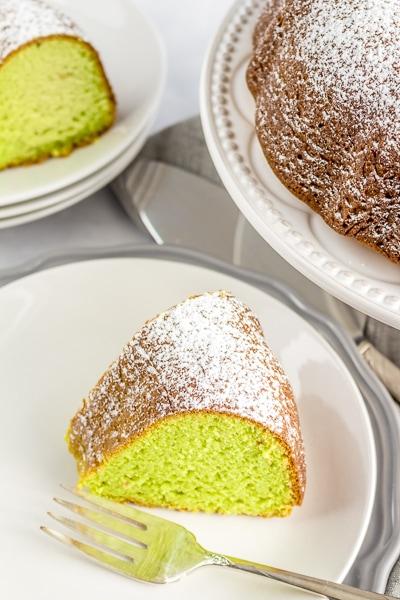 Pistachio Gluten Free Cake