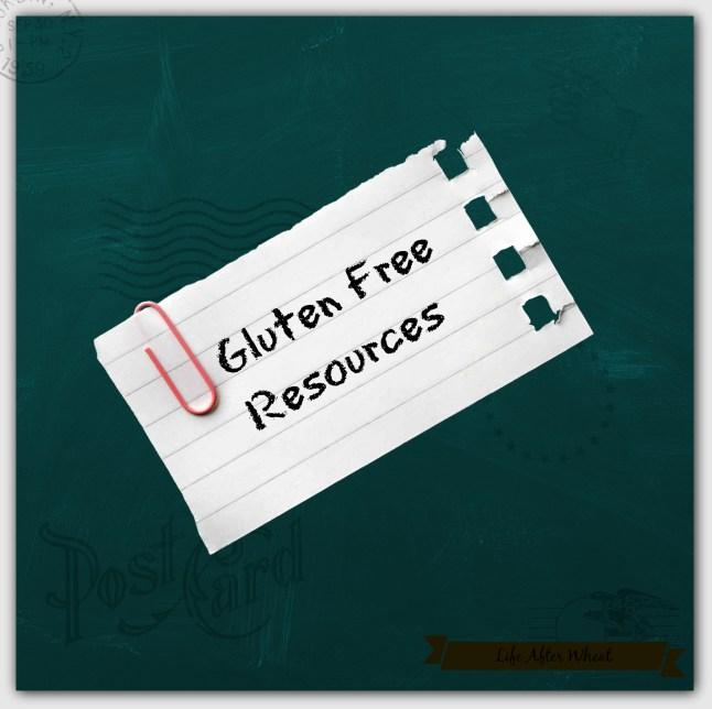 Gluten Free Resources