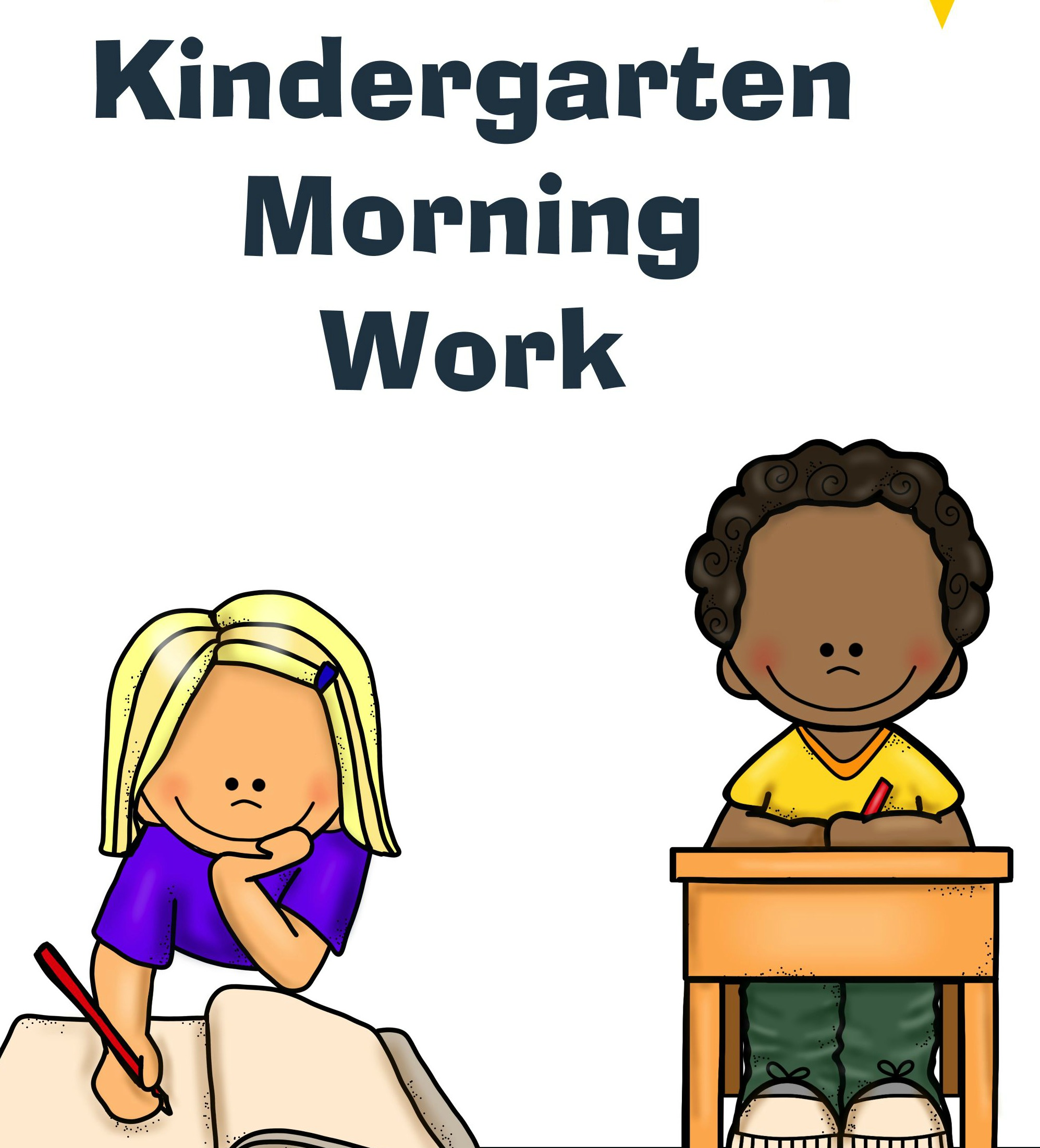 Kindergarten Morning Work Pack